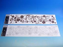 Samolepky pokoj. dekorace pruh ORNAMENTY /882/