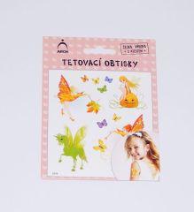 Dětské tetovačky - Víly 04 / 2514