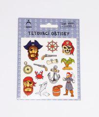 Samolepky tetování Piráti 01 / 2571
