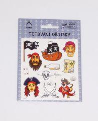 Samolepky tetování Piráti 02 / 2572