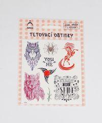 Samolepky tetování Dívčí ornamenty 02 / 2592