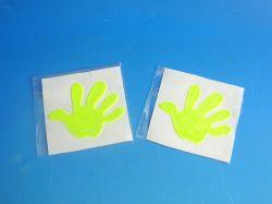 Samolepky dětské reflexní  RUKA 184