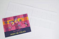 Desky na číslice Motýl 1-16318