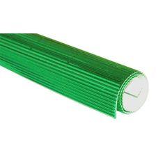 Vlnitý karton - zelená alu TFM-63