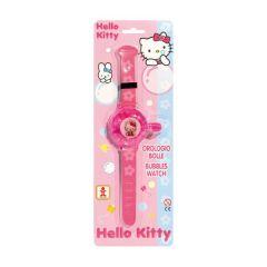 Hodinky s bublifukem Hello Kitty