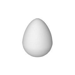 Polystyrenové vejce 12 cm (balení 6 ks)