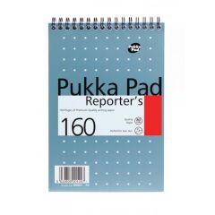 PUKKA blok spirálový metalic Reporters NM001