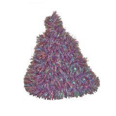 Vánoční řetěz levandulový-holografický