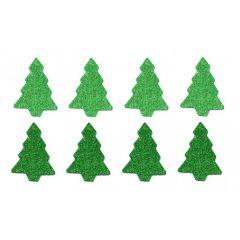 Vánoční samolepky - stromek PVX09