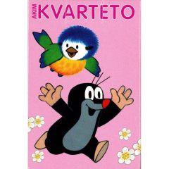 Karty Kvarteto - Krteček a sýkorka