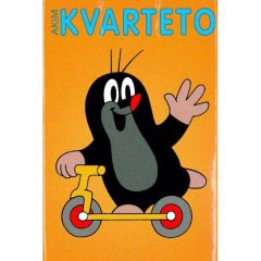 Karty Kvarteto - Krteček a koloběžka