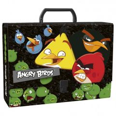 Kufřík 33 cm Angry Birds hranatý