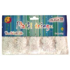 Vánoční konfety - sněhové vločky