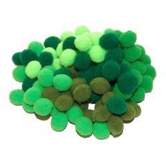 Bambule - zelené 100 ks