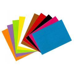 Filcové listy samolepící A4 mix barev