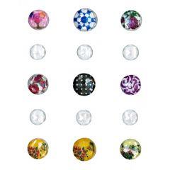 Samolepící kamínky - tvary