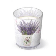 Svíčka ve skle Flowering Lavender