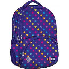 Studentský batoh St.Right Neon Dots BP07