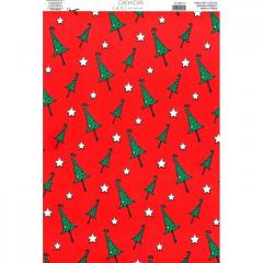 Vánoční karton A4 DB02-101