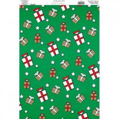 Vánoční karton A4 DB04-103