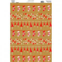 Vánoční karton A4 DB07-101