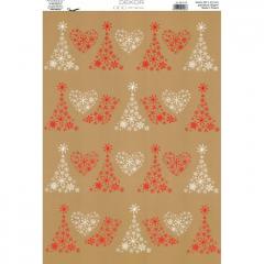Vánoční karton A4 DB10-102
