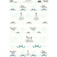 Vánoční karton A4 DB11-103