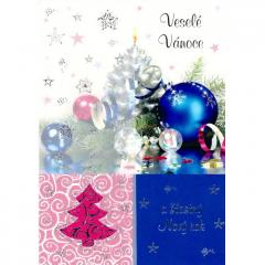Vánoční přání Pol-Mak 13186