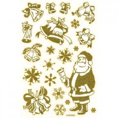 Vánoční fólie na okno XWP040C