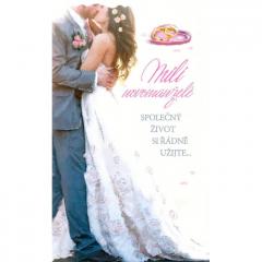 Svatební přání Mezuza 02-213 s textem