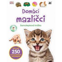 Samolepková knížka Domácí mazlíčci