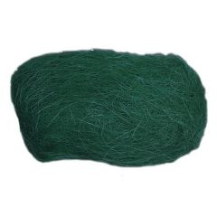 Dekorační sisal - tmavě zelený