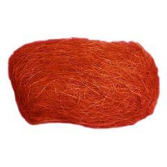Dekorační sisal - oranžový
