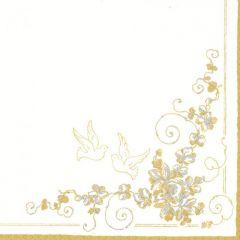 Svatební ubrousek White Doves