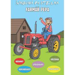 Šikovná pastelka - Farmář Pepa