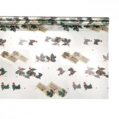Vánoční fólie 100 x 130 cm Vintage Christmas
