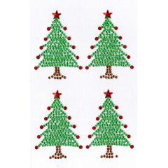 Vánoční samolepky - stromek