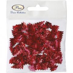 Vánoční stolní konfety - červené
