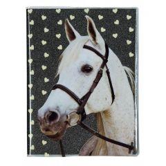 Památník s brokátem Kůň - bílý