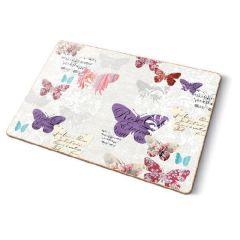 Korková podložka Romantic Butterflies maxi