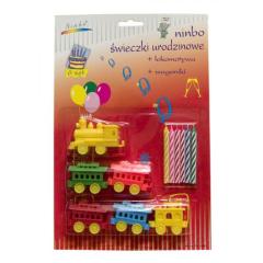 Svíčky dortové  242K Vláček