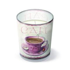 Svíčka ve skle Coffee meeting