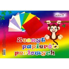 Barevné papíry B5 - perleťové