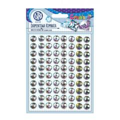 Samolepící kamínky - Diamond Chamber 80 ks