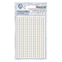 Samolepící kamínky - Pearl Chamber 336 ks