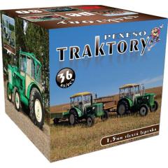 Pexeso Traktory v krabičce