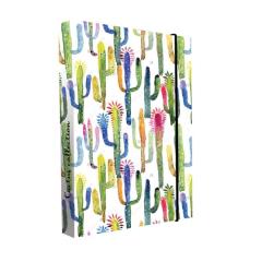 Box na sešity A4 Jumbo - Cactus