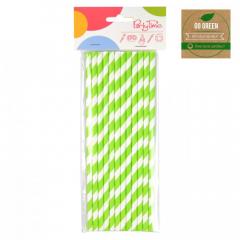 Eko brčko - stripes Go Green zelené
