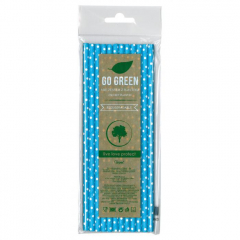 Eko brčko - dots Go Green modré