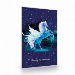 Desky na abecedu Unicorn